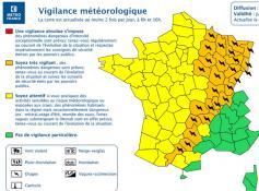 Nouvelle alerte météo en Saône-et-Loire