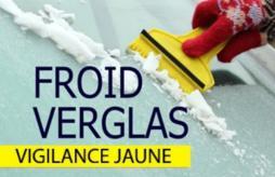 Alerte vigilance jaune «neige-verglas»