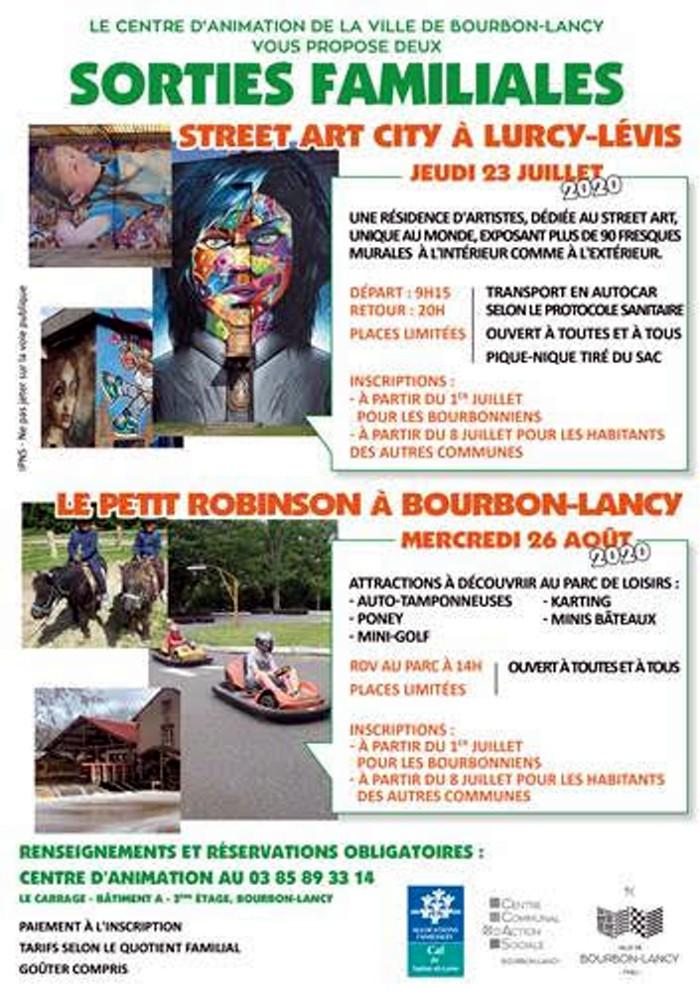 Sorties familiales à Bourbon-Lancy